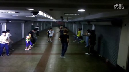 墨尔本曳步舞、鬼步舞游小步温州分团第一个视频