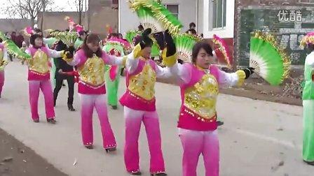 2012年陕西省渭南市白水县林皋村许家河西恒寨村春节社火汇演