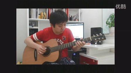 曲婉婷 我的歌声里 吉他指弹