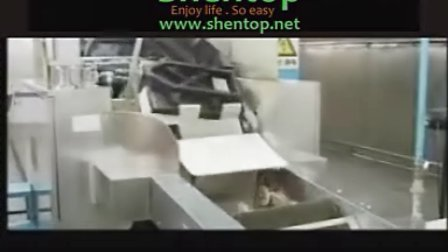 圣托 威化饼干机 威化饼生产流程 wafer production line