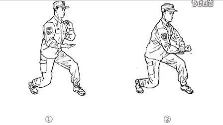 新式擒敌拳 图画分步讲解示范版本