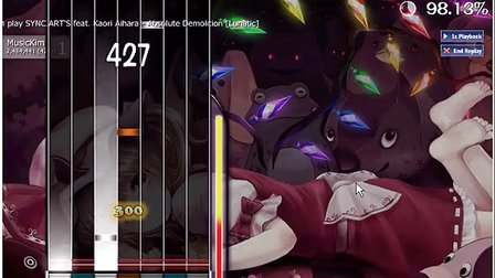 [OSU]O2J-二小姐Absolute Demom[7K]