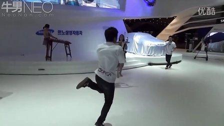 2012釜山国际车展:韩国雷诺三星汽车展台