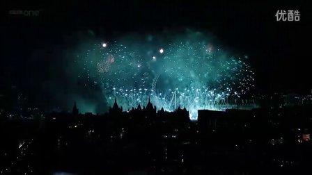 【Adele中文网】London Fireworks 2012 in full HD