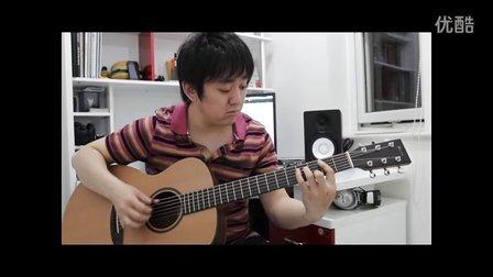 胡夏 那些年 吉他指弹