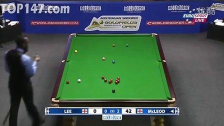 第一轮 斯蒂芬-李 vs 罗瑞-麦克劳德(106) 第3局