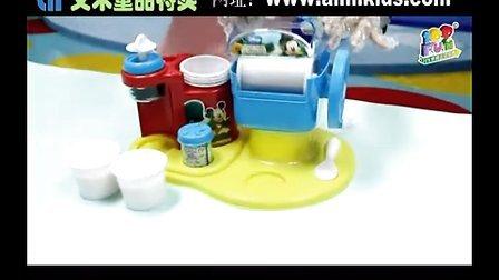 【艾米童品】迪士尼壹百分雪糕机 冰冰乐 冰激凌机1