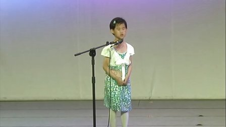陕西赛区选拔赛6月9日上午:小学A组语言类