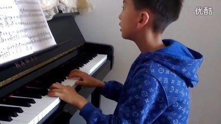 5月22日洪韬壹~钢琴晨练『仙女的竖琴』