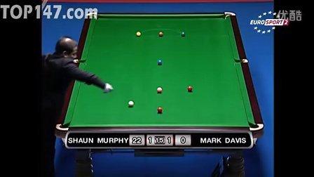 决赛 马克-戴维斯 vs 肖恩-墨菲(58) 第3局