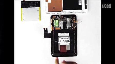 华硕MEMOPAD HD 7(ME173XX拆机)安装步骤视频