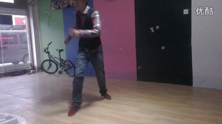 平度市舞韵街舞培训2014新年第一弹poppin.