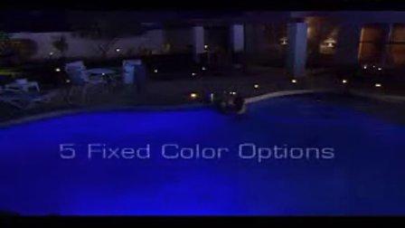 亨沃变彩LED泳池灯