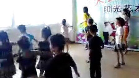 蓝天拉丁舞练习2