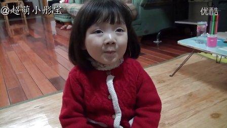 三岁宝宝演绎红灯记 彤宝版李铁梅 都有一颗红亮的心 超萌小彤宝