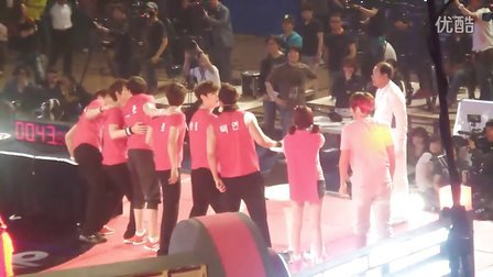 120508 2PM 胜负之神 Kissing Game1
