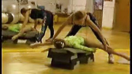 cl-kids 少儿柔术 柔术训练 被动柔术 体操训练102