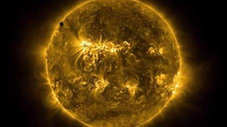 天文奇观:2012金星凌日Proba-2卫星观测录像