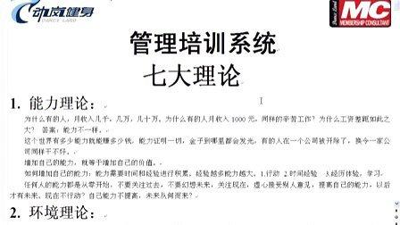 七大理论—1.能力理论动岚健身更多培训www.danceland.com.cn