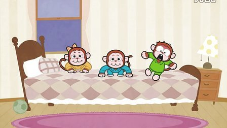五只小猴子 Five Little Monkeys