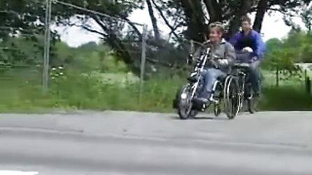 德国手动兼电动轮椅辅助车头 Speedy-Duo 2