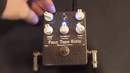 Faux Tape Echo by Wampler Pedals