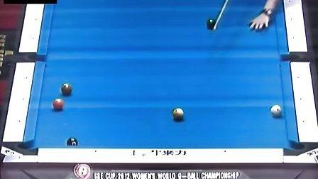 半决赛 凯莉·费雪(英国) vs 刘莎莎(中国) 决胜局