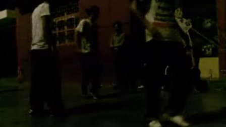 水泥地上的街舞