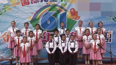 靖边七小六一优秀节目合唱《鲁冰花》