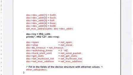 软件视频包-国嵌培训视频4课程与视频第5阶段(驱动程序设计)第5天5-5-2(CS8900A