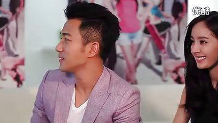 杨幂刘恺威谈法国浪漫之旅—专辑:《杨幂刘恺威首同台受访