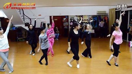 深圳舞蹈网福田培训基地民族舞培训班学员课间实录《黑小伙》