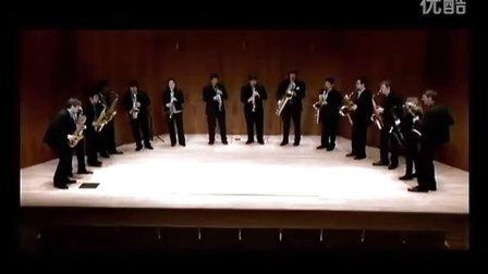 """伊斯曼萨克斯重奏团 普罗科菲耶夫第一交响曲""""古典"""" 第四乐章"""
