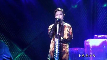 2013李宇春WhyMe演唱会青岛站part 5工业摇滚by玉米爱小飞