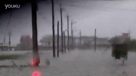 【8.2双台风】宜兰五结锦众淹水概况 (返家无路)