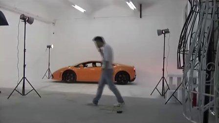 时尚摄影师kevin汽车广告兰博基尼拍摄花絮(原画)_960x640_2.00M_h.264
