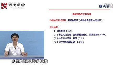 2012贺银成实践技能公开课【腹部听诊】