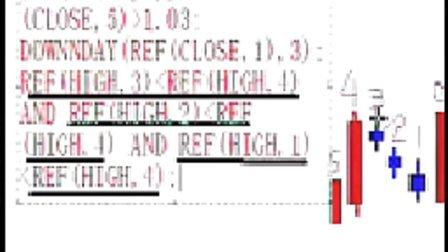 指标公式编写10上升三法