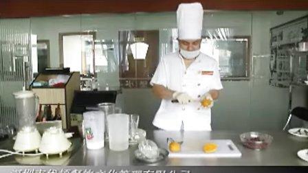 红豆椰爽,水果冰淇淋,水果布丁怎么做?做法?——优顿餐饮培训