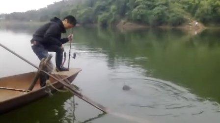 三岔湖路亚,中鲶鱼!