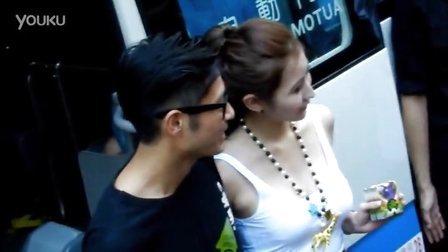 王宗堯 李沐晴EVA 2012-09-08 旺角行人專用區 電影一路向西 宣傳活動