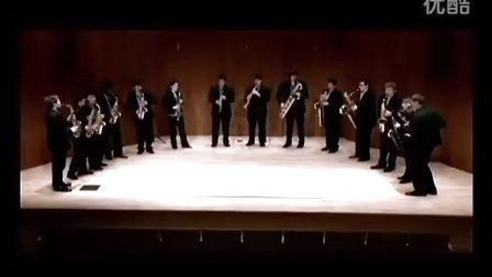 """伊斯曼萨克斯重奏团 普罗科菲耶夫第一交响曲""""古典"""" 第三乐章"""