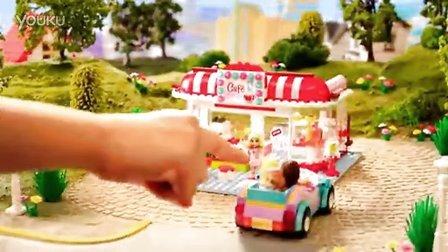 买点什么好 海淘推荐 LEGO乐高女孩系列咖啡屋,小女生的乐高积木玩具