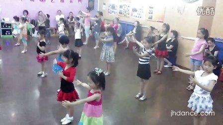 江华舞蹈2012暑期长宁少儿拉丁舞培训班2-90后编导