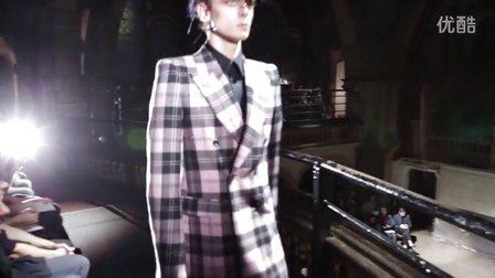 Alexander McQueen | 2014秋冬男装| 时装秀