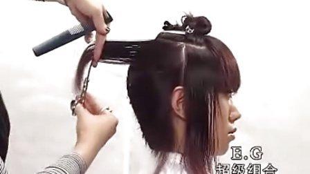 沙宣女发剪发 美发视频 短发发型