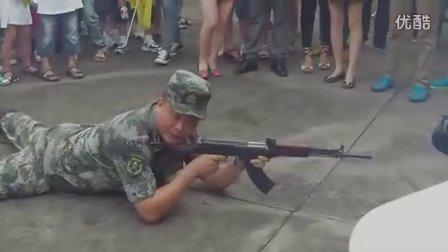 2012暑假小记者国防教育行