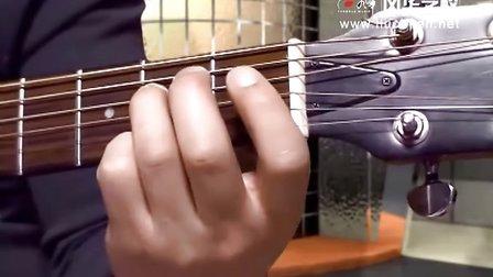 16 吉他C大调和A小调的常用和弦指法图视频教学