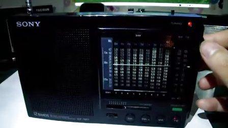 索尼7601调频中波简单测试