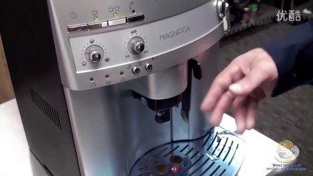 德国正品在线-DeLonghi Magnifica 3300 德龙全自动咖啡机演示